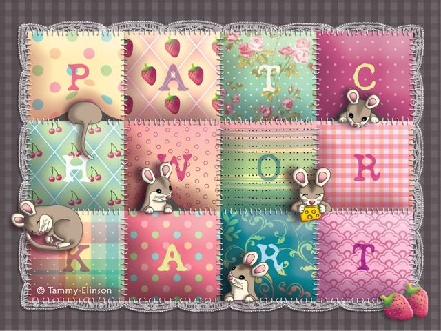 Patchwork and mice