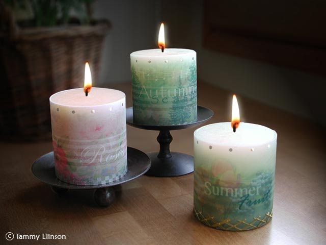 Candles wraps